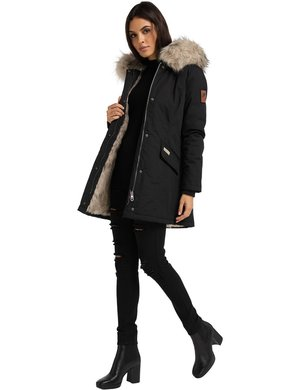 CRISTAL - Winter coat - black