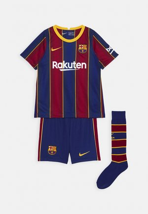 FC BARCELONA SET - Korte sportsbukser - deep royal blue/varsity