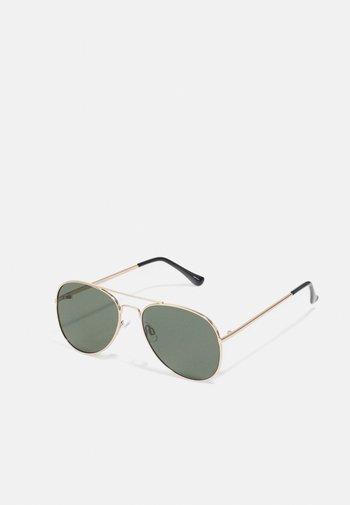SLHBRANDON SUNGLASSES - Sunglasses - gold-coloured