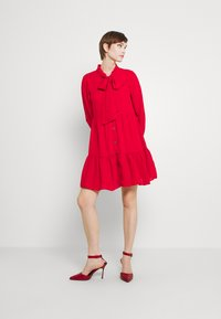 Molly Bracken - LADIES WOVEN DRESS - Cocktail dress / Party dress - red - 1