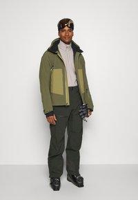 Salomon - EPIC - Winter jacket - olive night/martini olive/white - 1