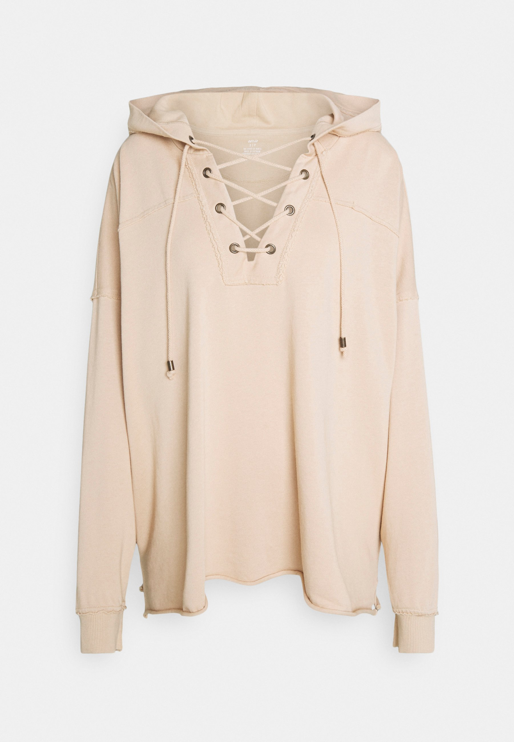 Donna LACE UP HOODIE - Felpa