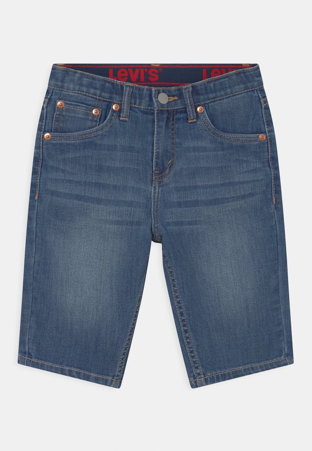 PERFORMANCE  - Denim shorts - blue denim