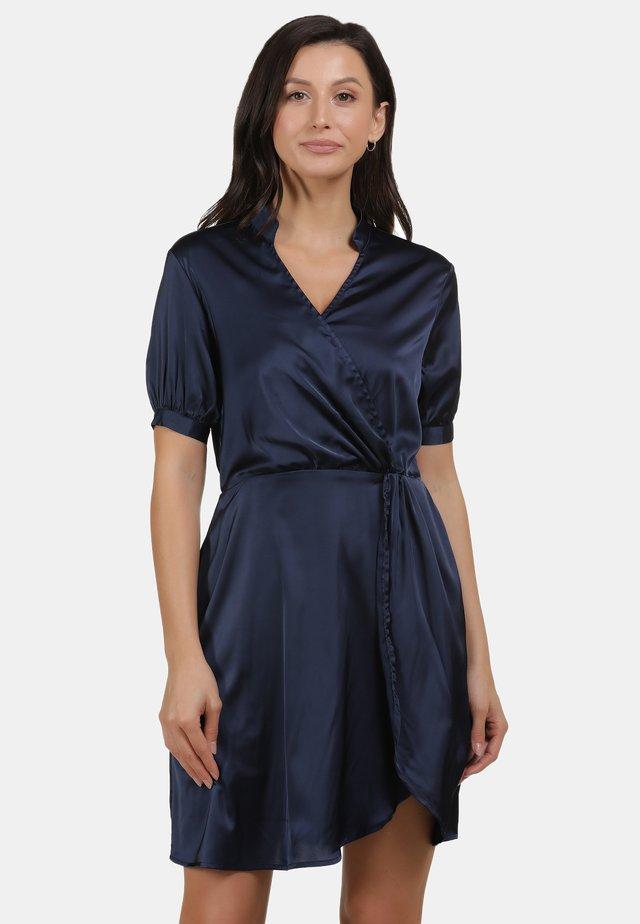 Korte jurk - marine