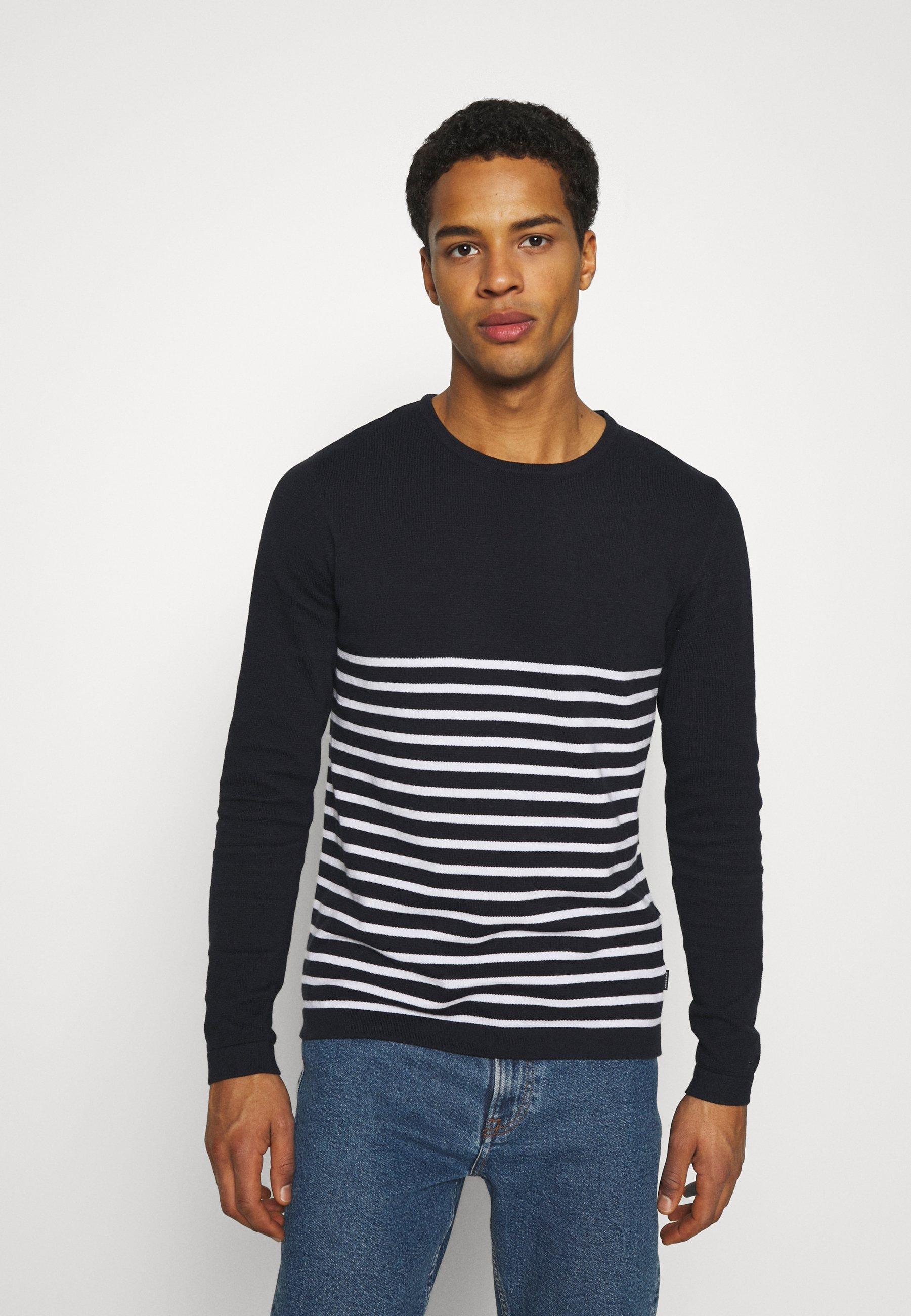 Homme JJAUGUST CREW NECK - Pullover