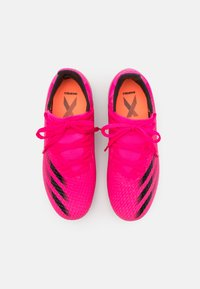 adidas Performance - X GHOSTED.3 FG UNISEX - Kopačky lisovky - shock pink/core black/screaming orange - 3