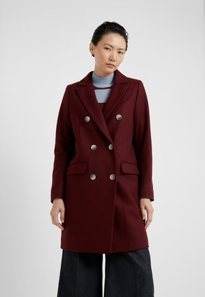 THERESE - Classic coat - windsor wine