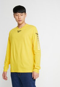 Reebok Classic - TEE - Long sleeved top - toxic yellow - 0