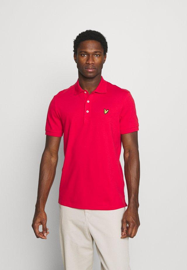 PLAIN - Polo shirt - gala red
