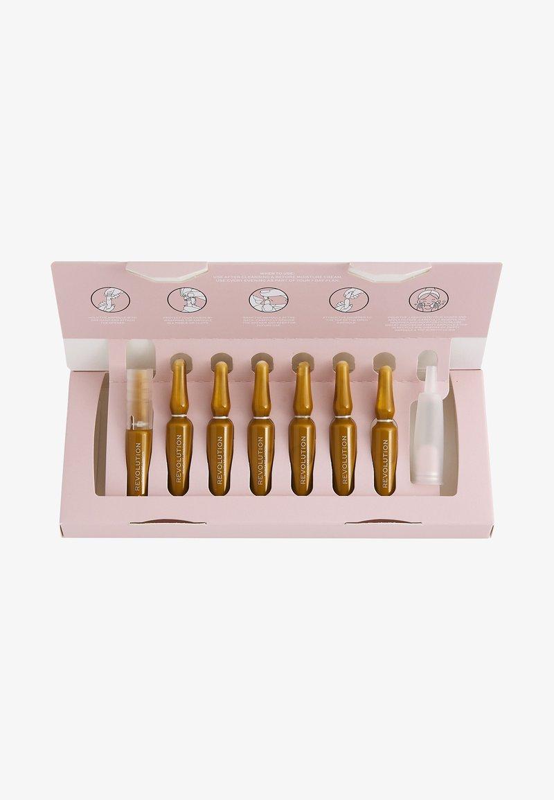 Revolution Skincare - REVOLUTION SKINCARE NIACINAMIDE 7 DAY EVEN SKIN PLAN AMPOULES - Skincare set - -