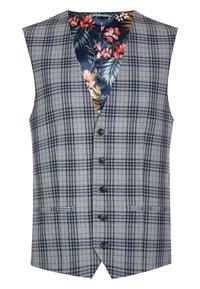 Next - Suit waistcoat - grey - 0