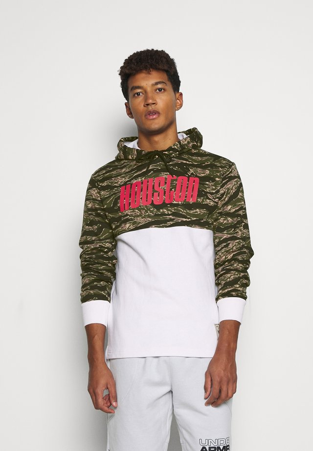 NBA HOUSTON ROCKETS TIGER HOODIE - Squadra - white