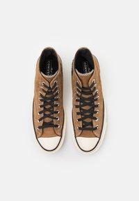 Converse - CHUCK TAYLOR ALL STAR 70 UNISEX - Baskets montantes - clove brown/black/egret - 3
