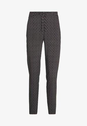 VMSIMPLY EASY LOOSE PANT - Pantaloni - black/felicia tornado