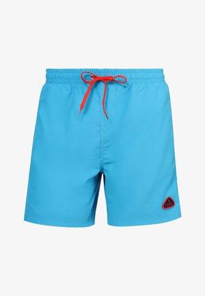 Swimming shorts - azure/coral