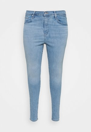 PLUS MILE HIGH SS - Jeans Skinny Fit - galaxy hazy days