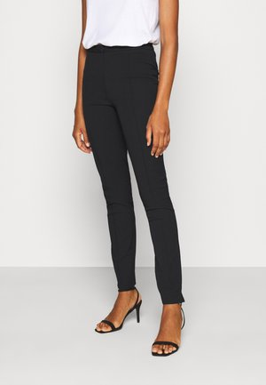 SLFILUE PINTUCK PANT  - Trousers - black