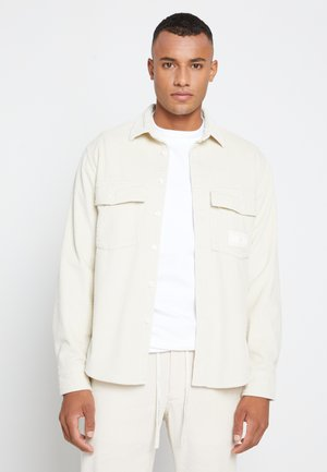 LEWIS HAMILTON UNISEX CHUNKY CORDUROY SHIRT - Overhemd - light silt