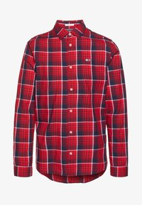 Tommy Jeans - Shirt - racing red/multi-coloured - 4