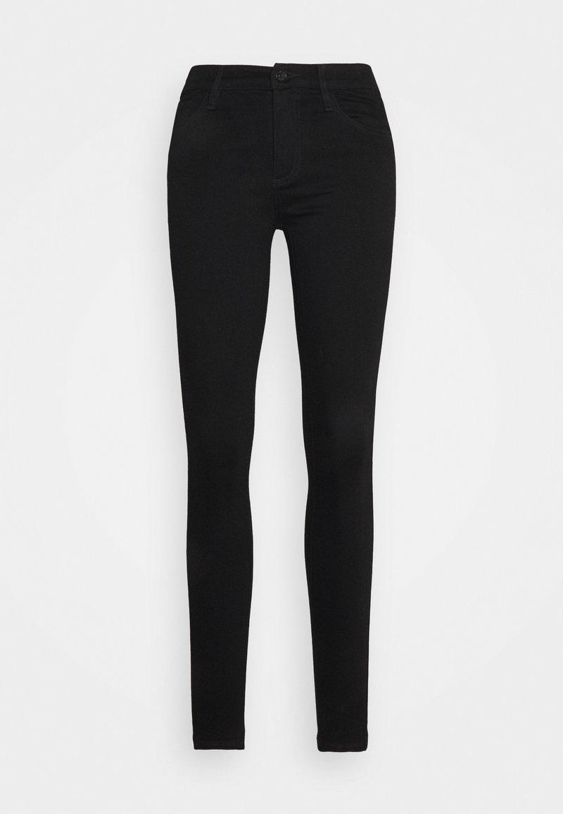 Armani Exchange - 5 TASCHE - Skinny džíny - black denim