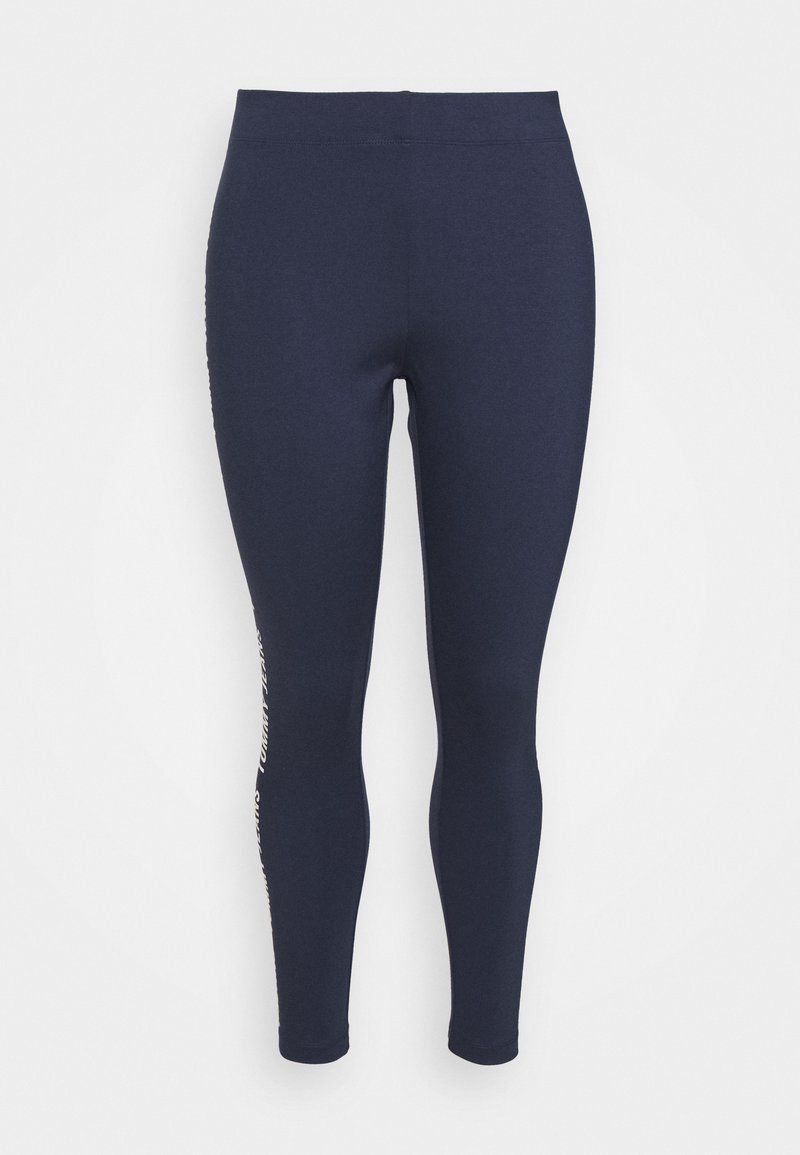 Tommy Jeans Curve - TAPE - Leggings - twilight navy