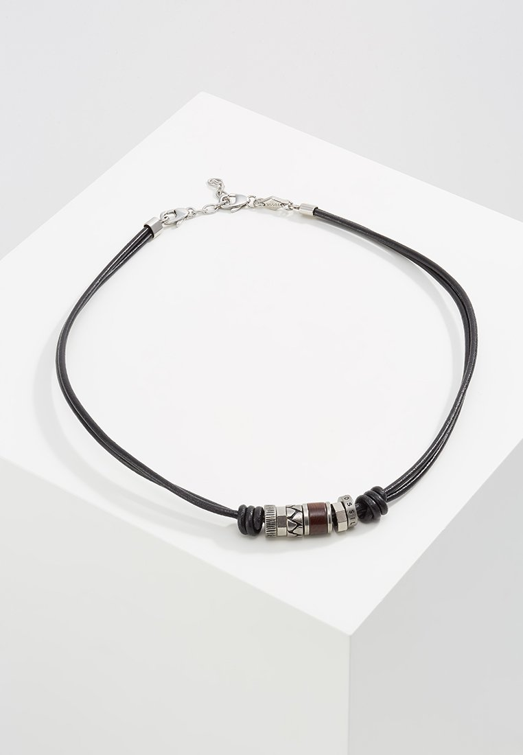 Fossil - Necklace - black