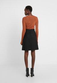 HUGO - RISELLA - Mini skirt - black - 2