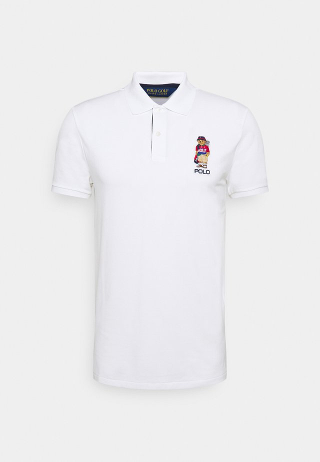 BEAR SHORT SLEEVE - Poloshirt - classic oxford white