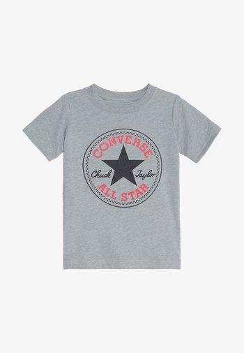 CORE CHUCK PATCH TEE  - T-shirt con stampa - dark grey heather