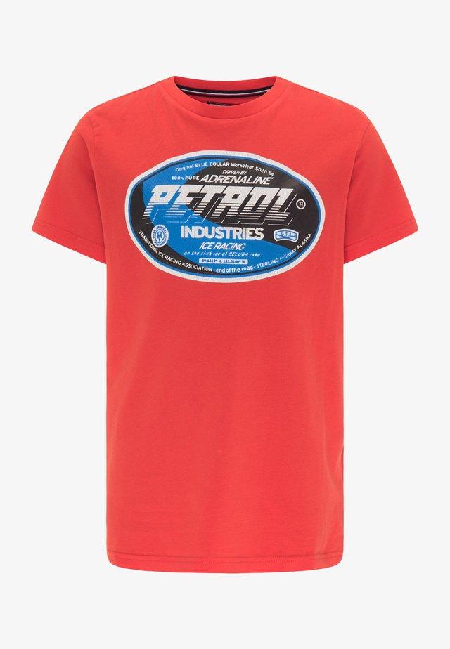 T-SHIRT - Camiseta estampada - red chili