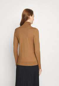 Sisley - TURTLE NECK - Jumper - beige - 2