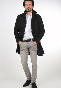 Solid - JAMPA - Classic coat - black - 1