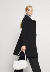 ONLY - ONLOLIVIA LONG BIKER COAT - Zimní kabát - black - 5