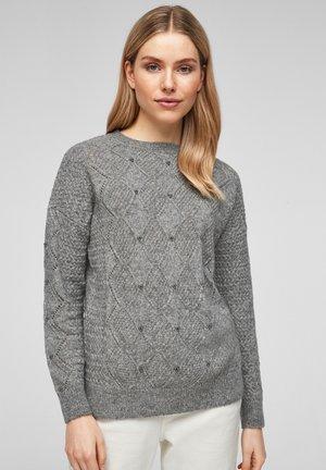 TRUI - Jumper - dark grey knit