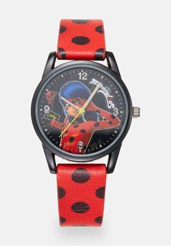 HORLOGE MIRACULOUS SUPER HEROEZ UNISEX - Watch - red