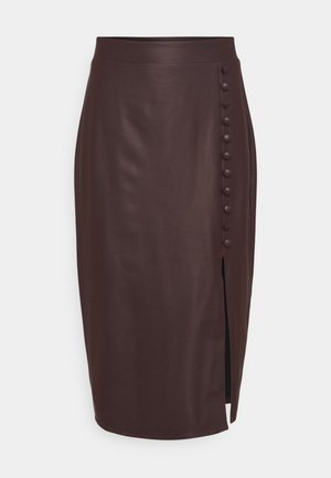 SKIRT - Pencil skirt - brown