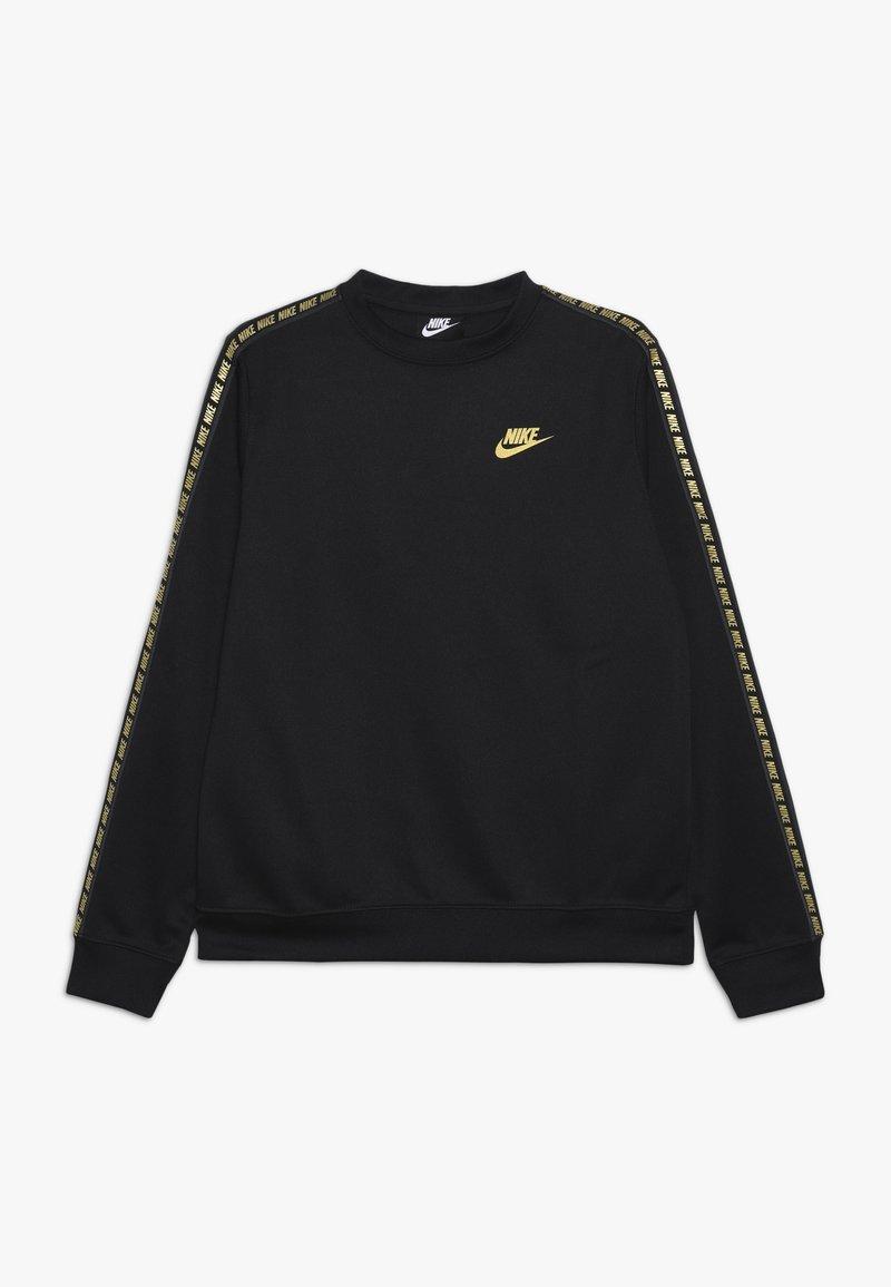 Nike Sportswear - NIKE SPORTSWEAR RUNDHALSSHIRT FÜR ÄLTERE KINDER - Felpa - black/metallic gold
