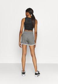 ONLY Play - ONPARETHA JAZZ  - Sports shorts - medium grey melange/dark grey - 2