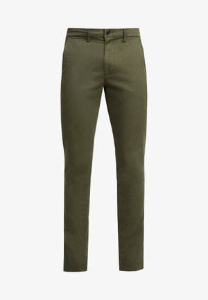 ESSENTIAL  - Trousers - black moss
