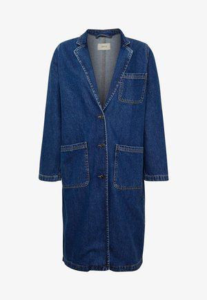 Classic coat - dark blue denim