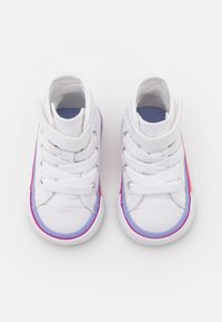 Converse - CHUCK TAYLOR ALL STAR STRIPED MIDSOLE UNISEX - High-top trainers - white/twilight pulse - 3