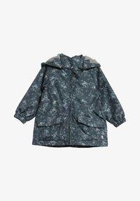 Wheat - Waterproof jacket - grey/blue - 0