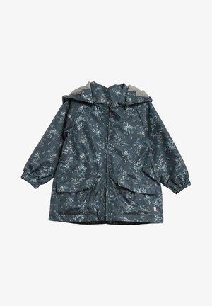 Waterproof jacket - grey/blue