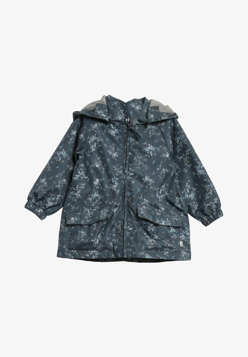 Wheat - Waterproof jacket - grey/blue