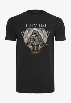 TRIVIUM TRIANGULAR WAR TEE - Print T-shirt - black