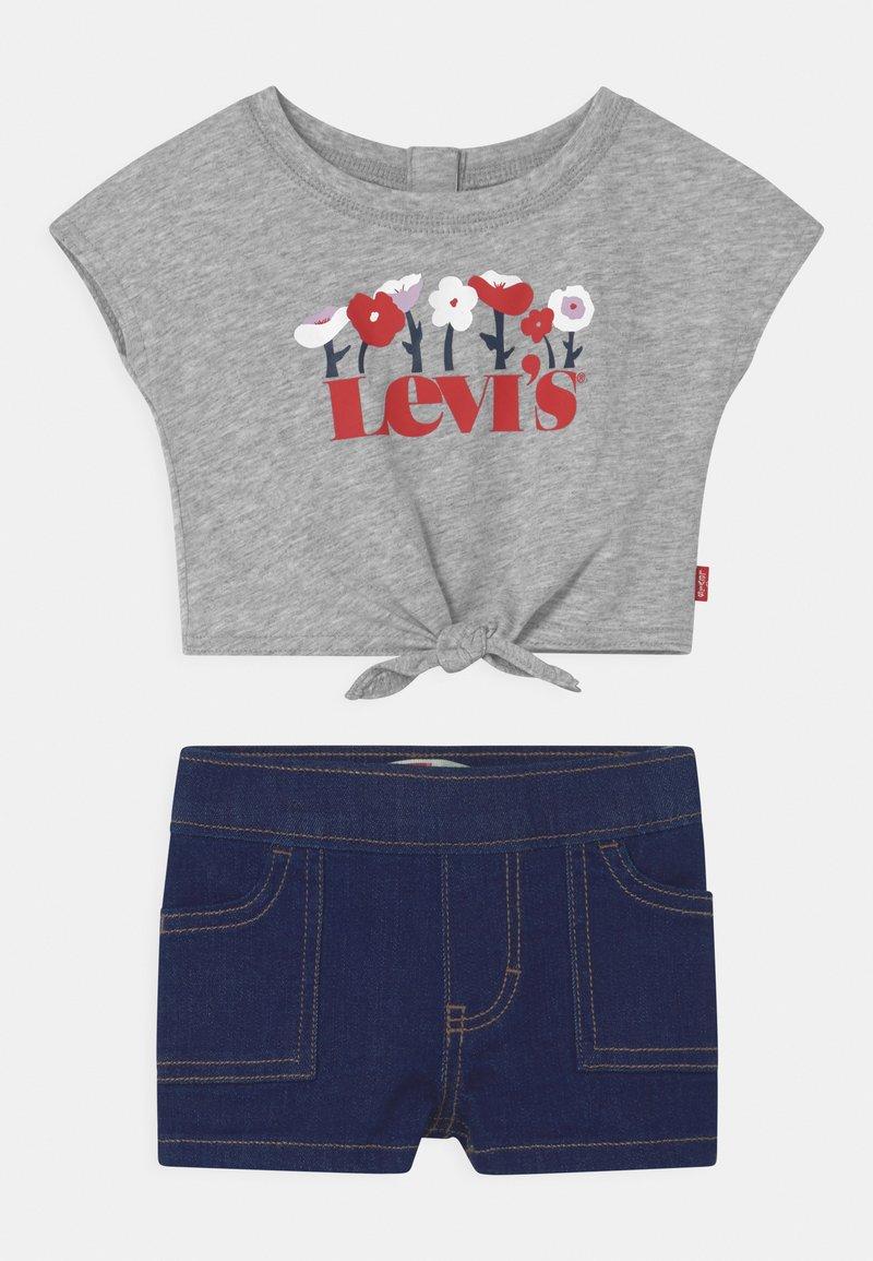 Levi's® - TIE FRONT SET - Print T-shirt - light gray heather