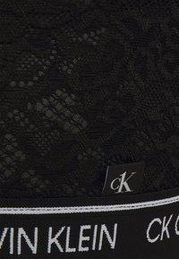 Calvin Klein Underwear - UNLINED TRIANGLE - Bustier - black - 2