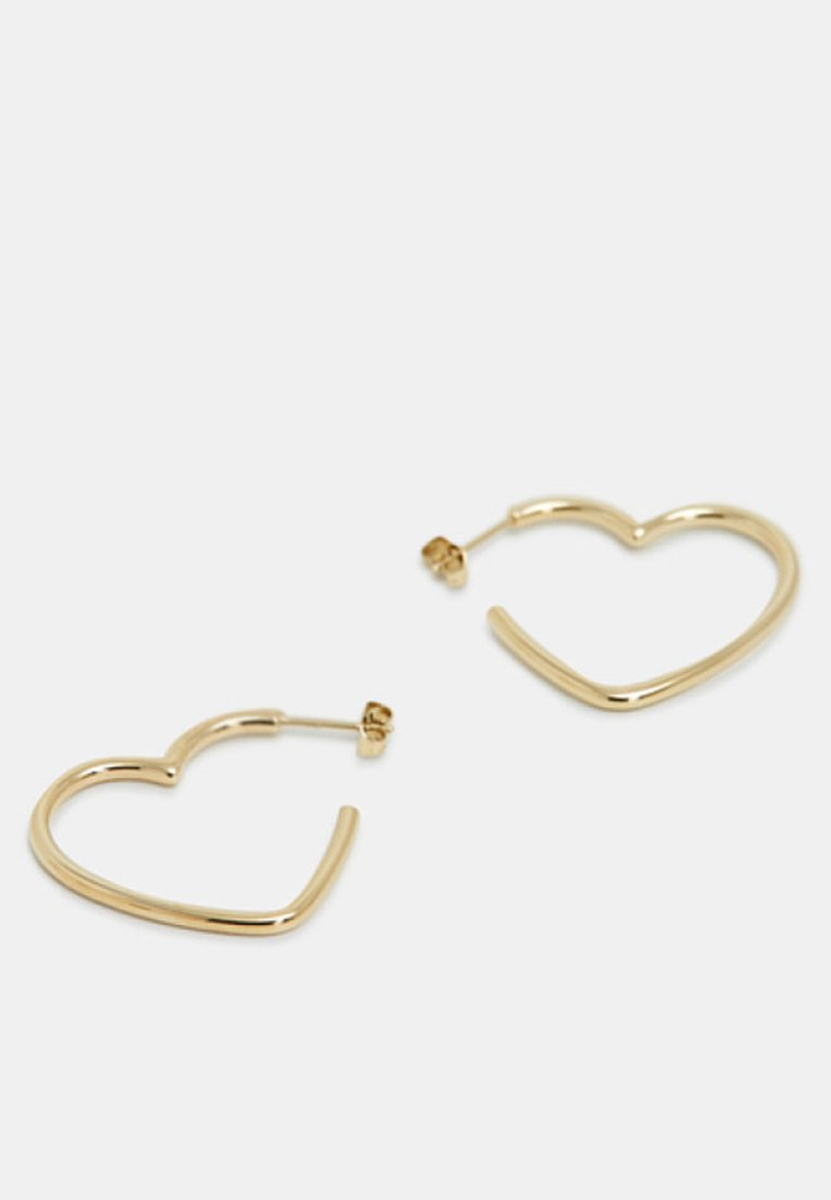 Esprit Love Is In The Air! Die Verspielte Herzform Und Der Elega - Ohrringe Gold-coloured/gold