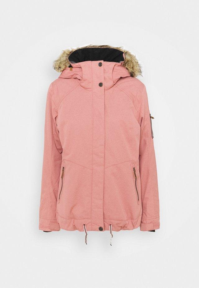 MEADE - Snowboard jacket - dusty rose