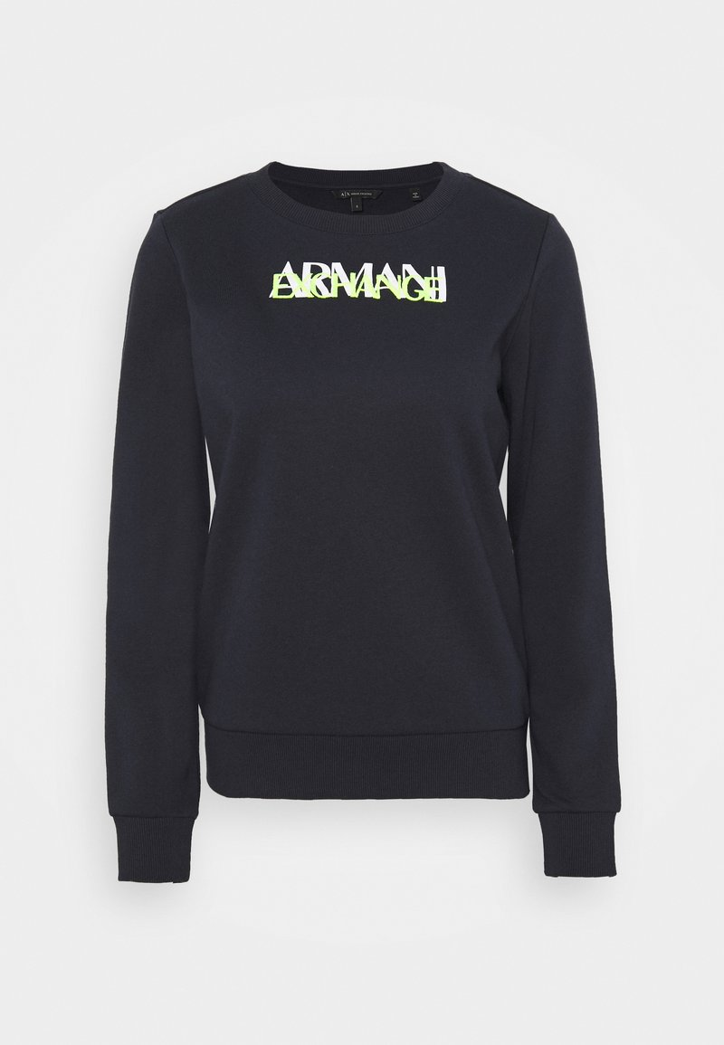 Armani Exchange - FELPA - Sweatshirt - blueberry jelly